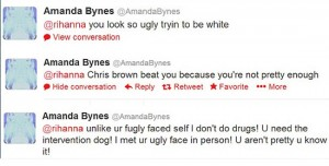 amanda-bynes rihanna worst celebrity tweets