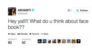 worst celebrity tweets ashanti facebook