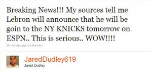 jared dudley worst celebrity tweets