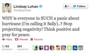 lindsay lohan worst celebrity tweets