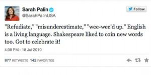 sarah palin worst celebrity tweets