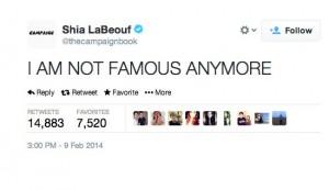 shia lebouf worst celebrity tweets
